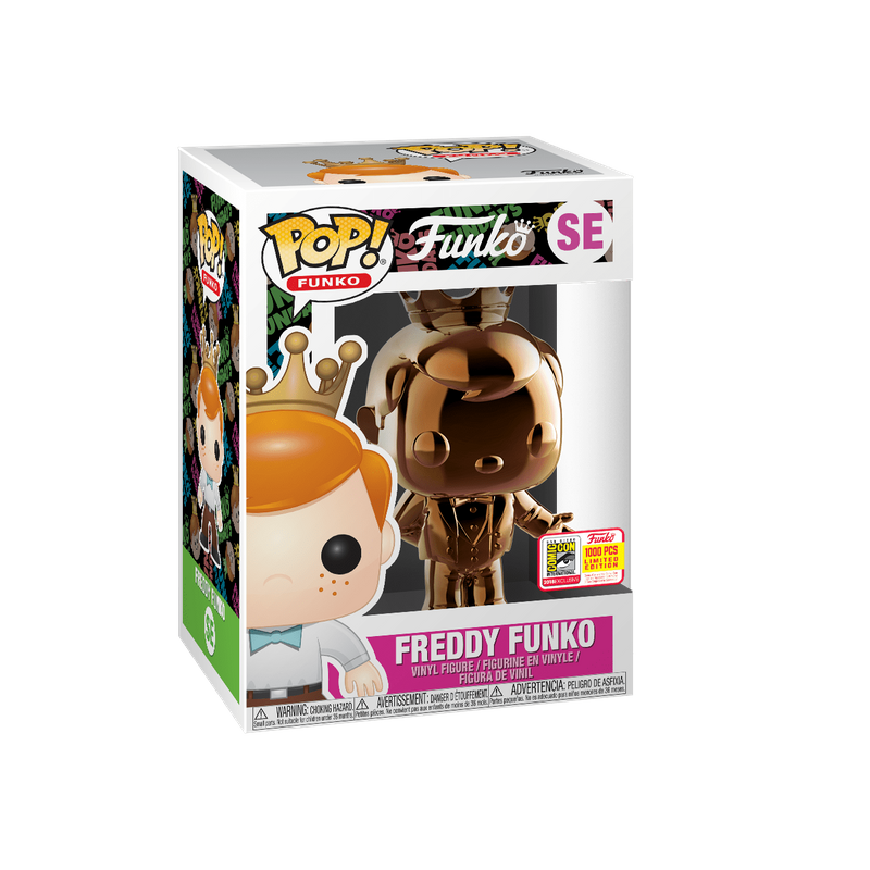 Freddy Funko (Dark Bronze Chrome)
