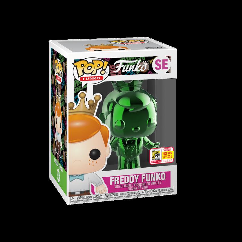 Freddy Funko (Emerald Green Chrome)