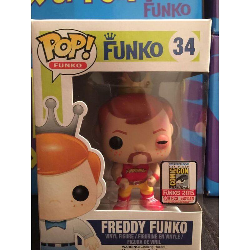 Verified Freddy Funko - Hulk Hogan Injured Funko Pop!   Whatnot