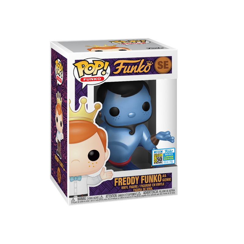Freddy Funko as Genie (Metallic)