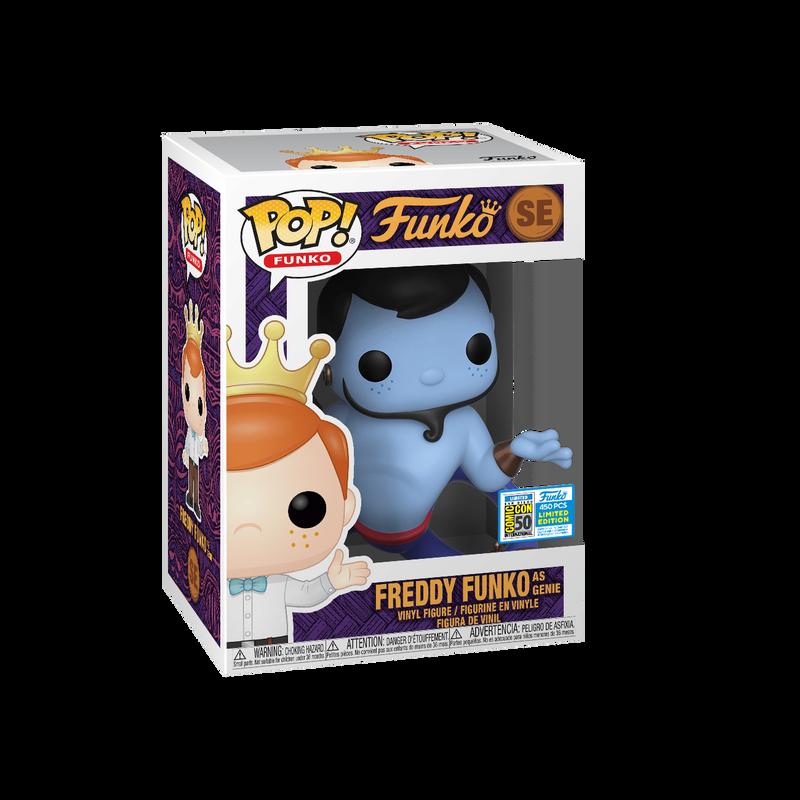 Freddy Funko as Genie