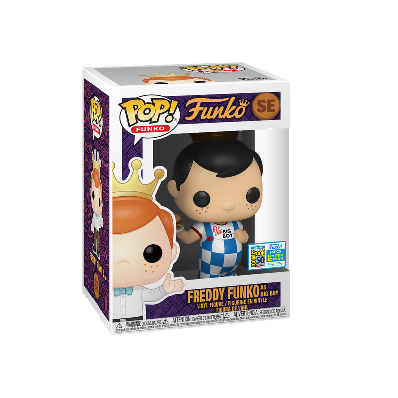 Freddy Funko as Big Boy (Blue)