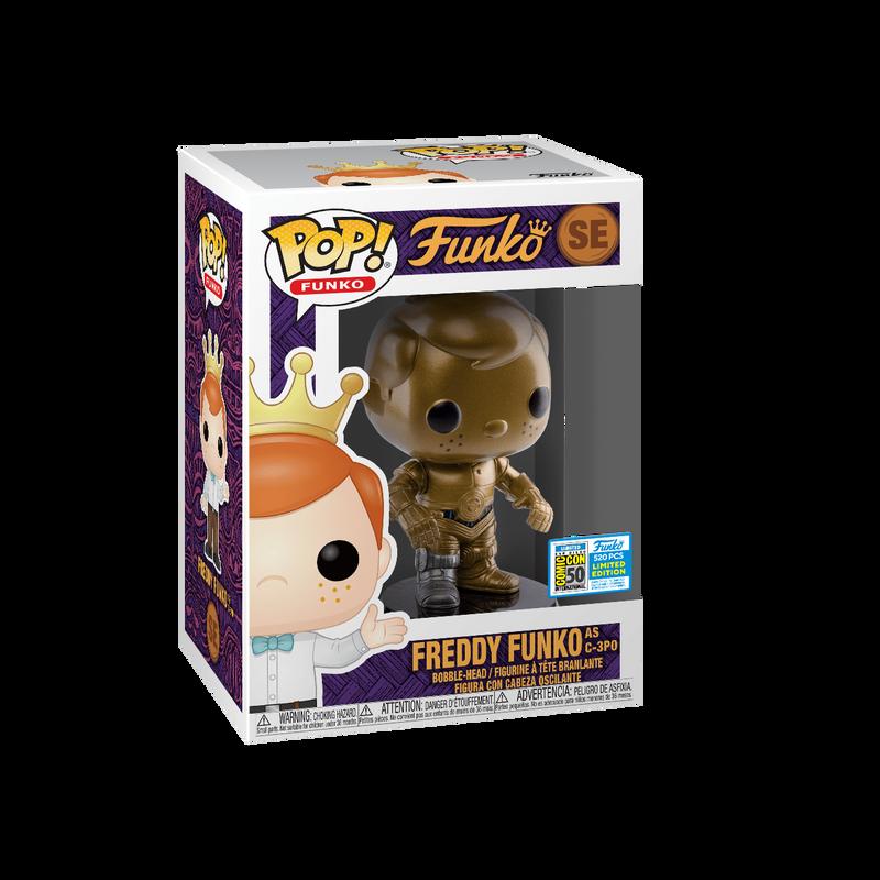 Freddy Funko as C-3PO