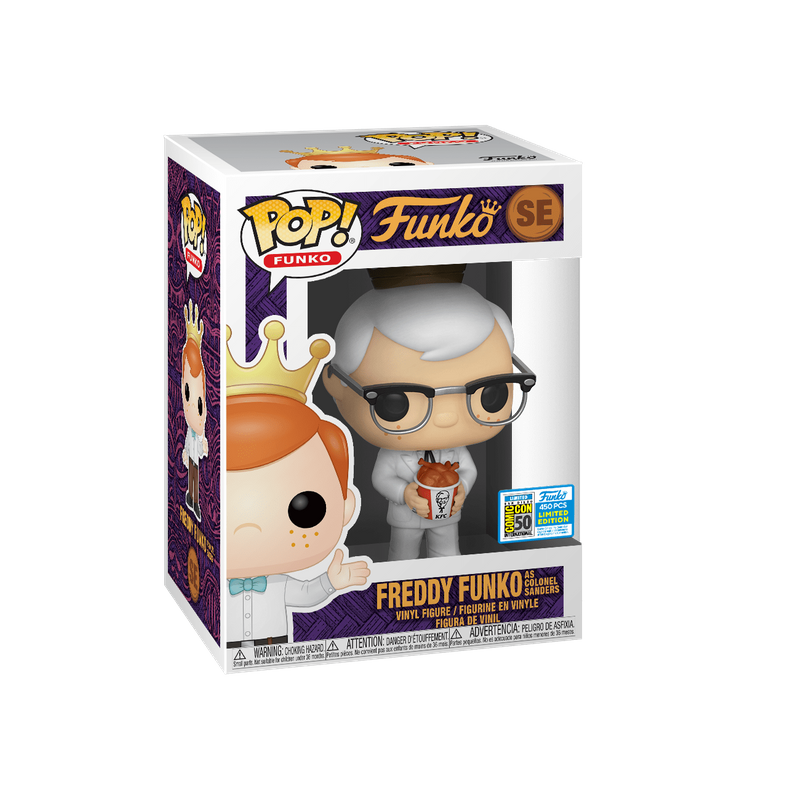 Freddy Funko as Colonel Sanders