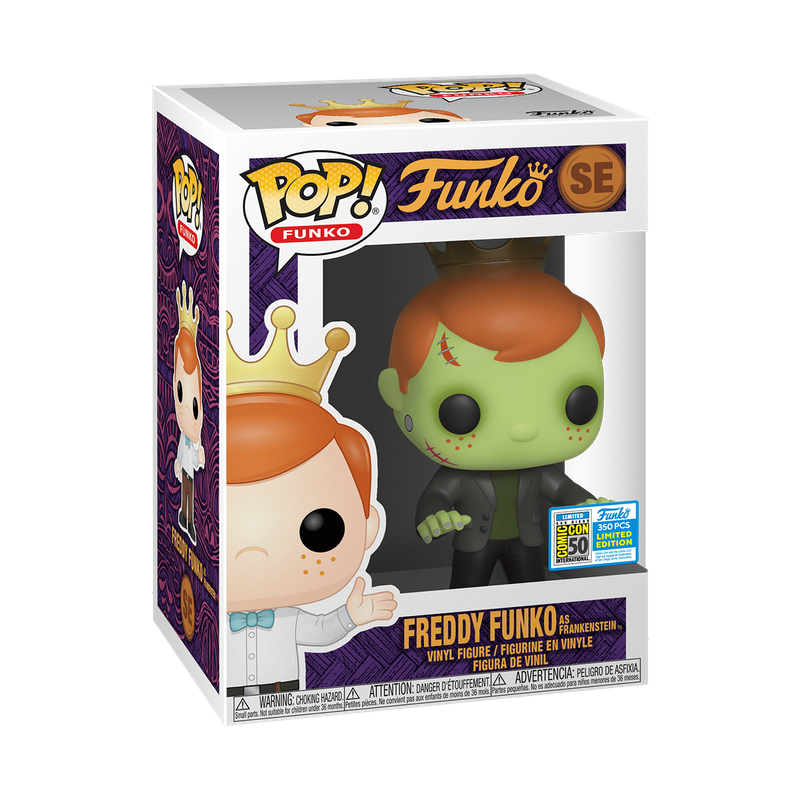 Freddy Funko as Frankenstein