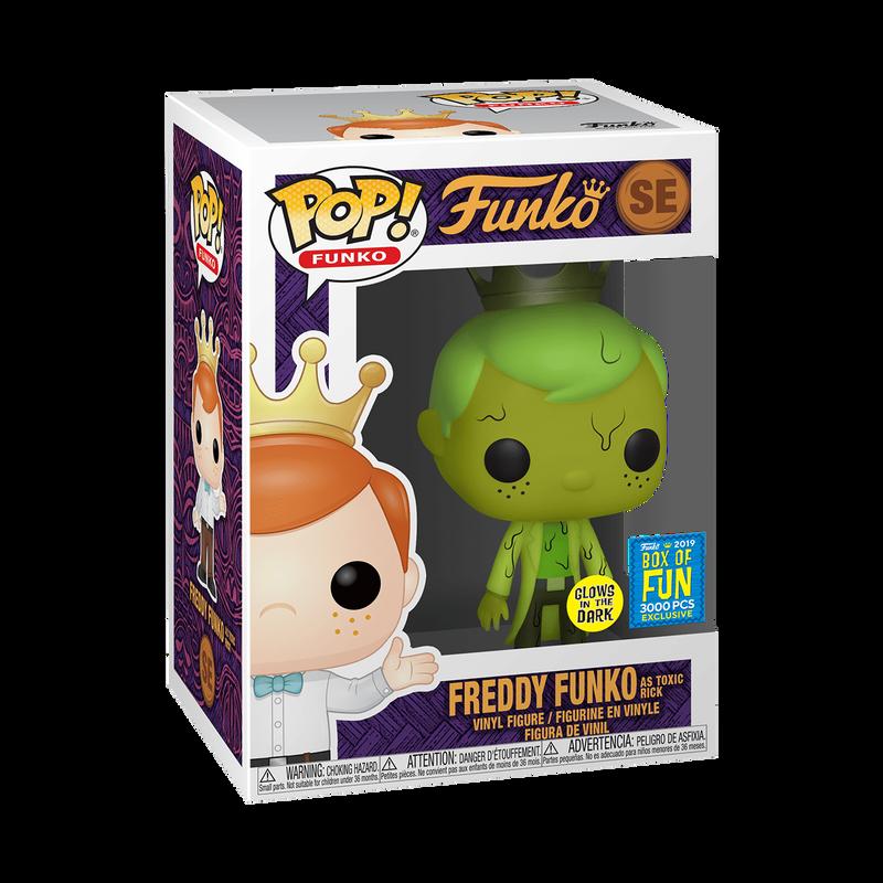 Freddy Funko as Toxic Rick