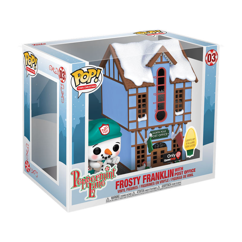 Frosty Franklin with Post Office