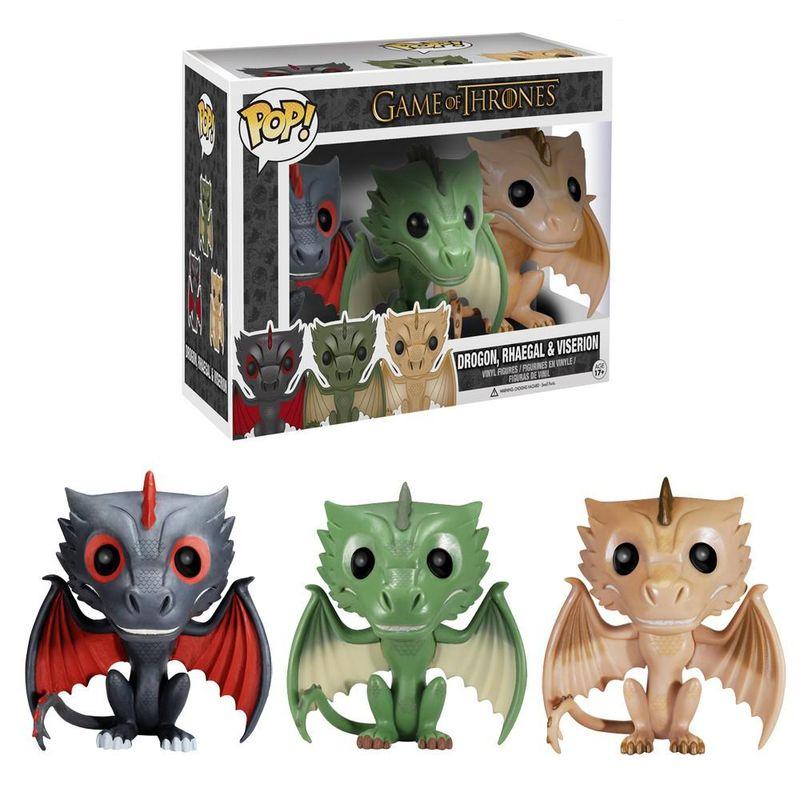 Drogon, Rhaegal. And Viserion