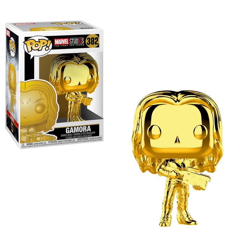 Gamora (Gold Chrome)