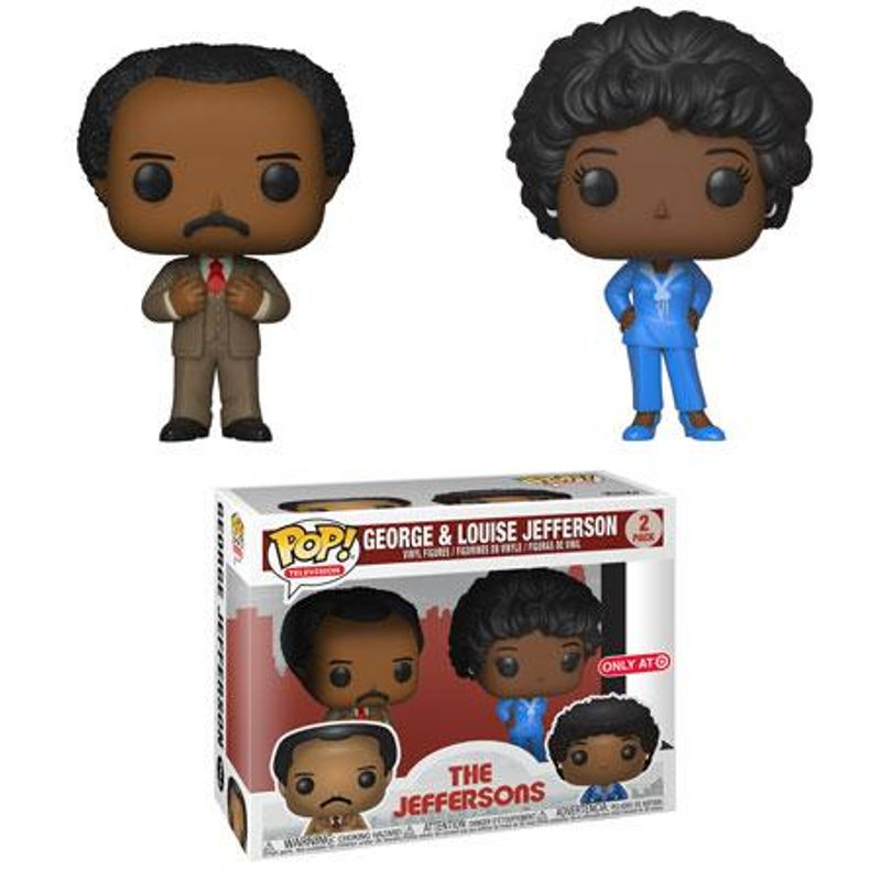 George & Louise Jefferson (2-Pack)