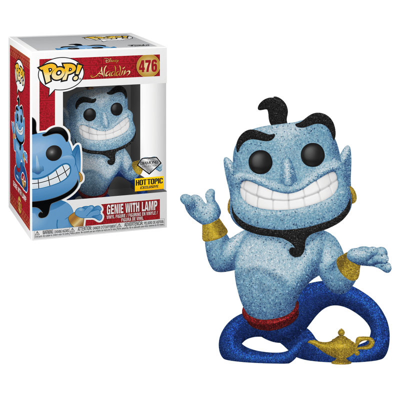 Genie With Lamp (Diamond Collection)