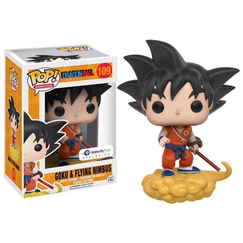 Goku & Flying Nimbus (Orange)