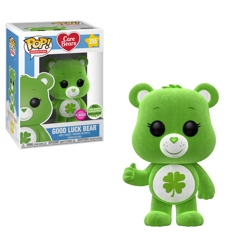 Good Luck Bear (Flocked) [Spring Convention]