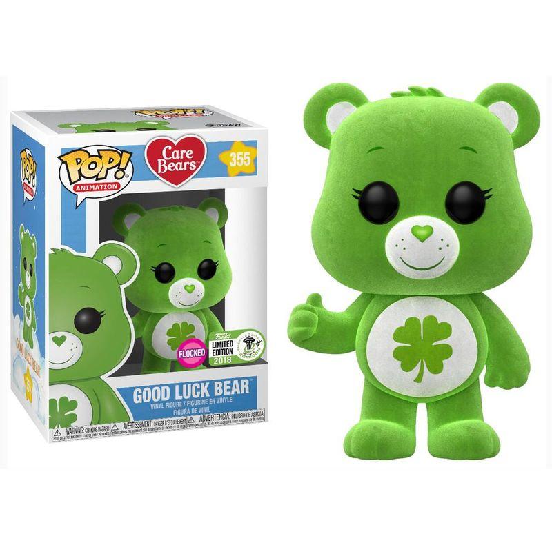 Good Luck Bear (Flocked) [ECCC]