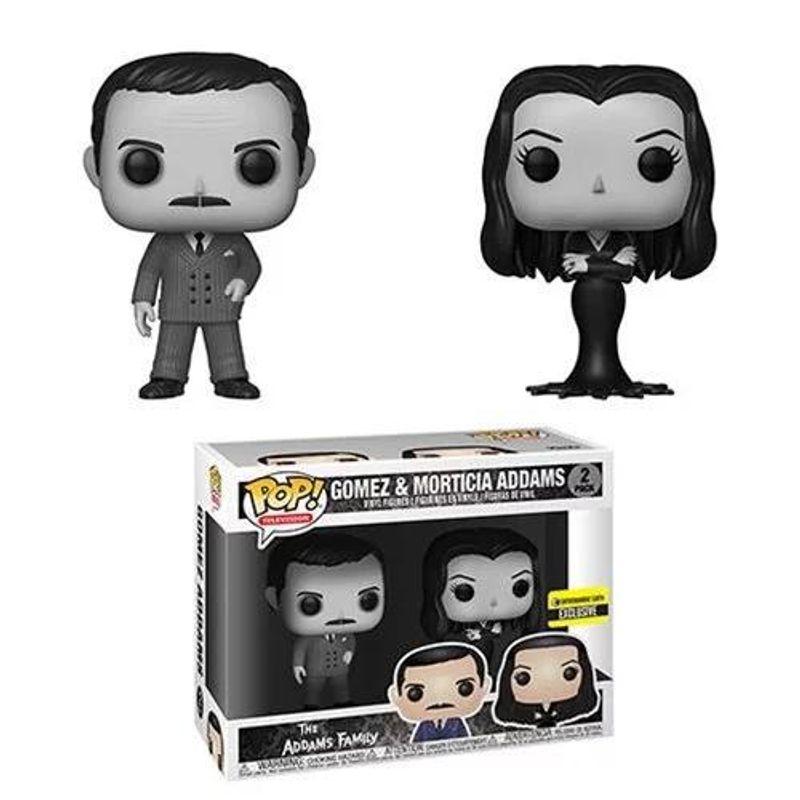 Gomez & Morticia Addams (Black & White 2-Pack)
