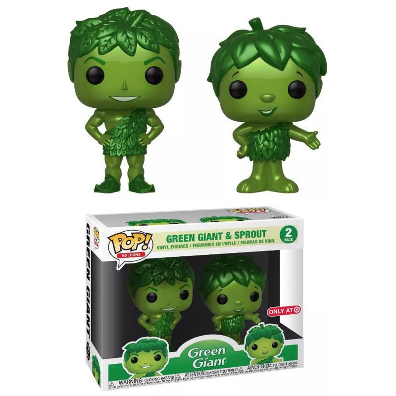 Green Giant & Sprout (Metallic 2-Pack)