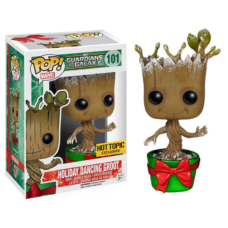 Dancing Groot (Holiday) (Metallic)