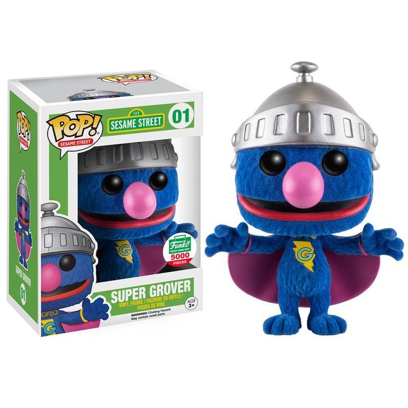 Super Grover (Flocked)