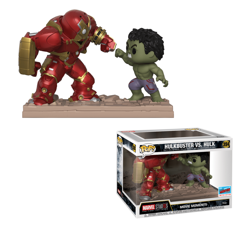 Hulkbuster vs. Hulk [NYCC]