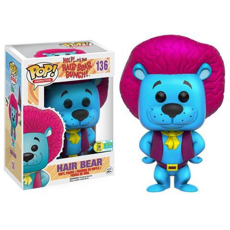 Hair Bear (Blue)