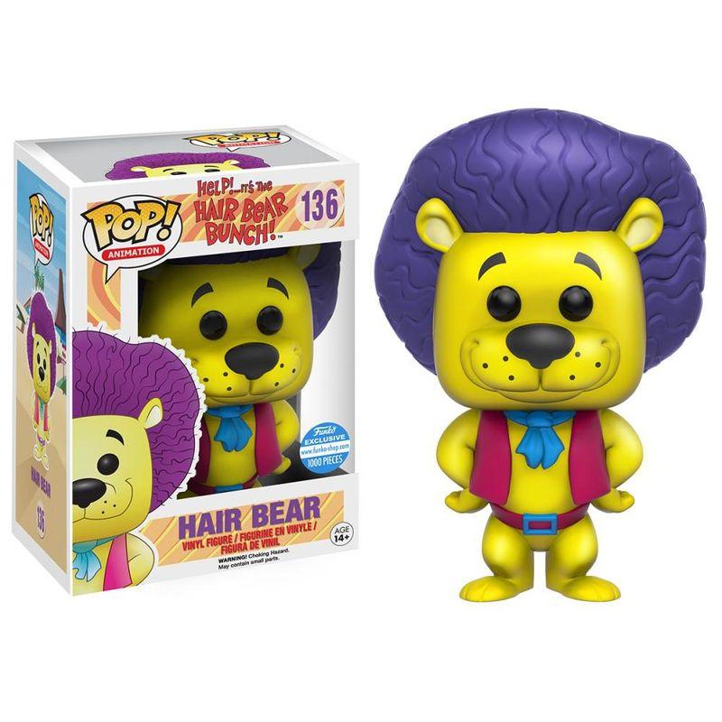 Hair Bear (Yellow)