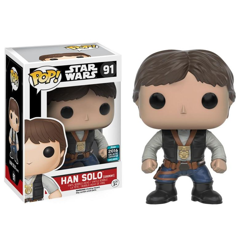 Han Solo (Ceremony) [Galactic Convention]