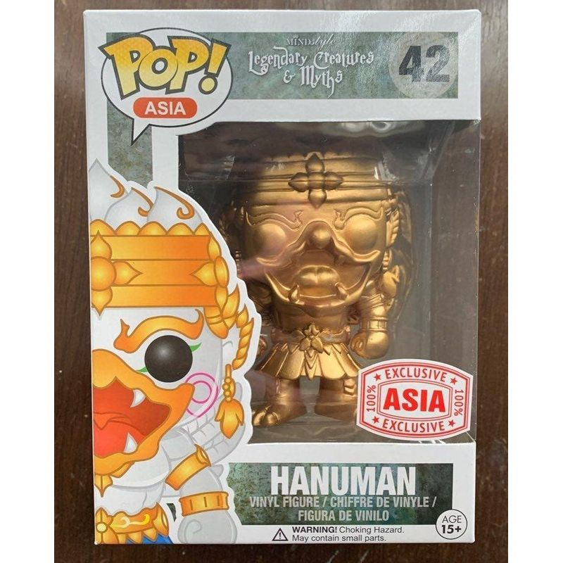 Hanuman (Gold)
