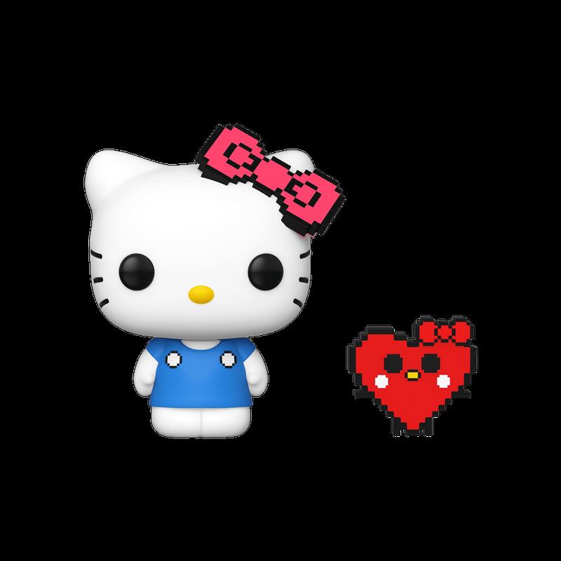 Hello Kitty (8-Bit) (Heart)