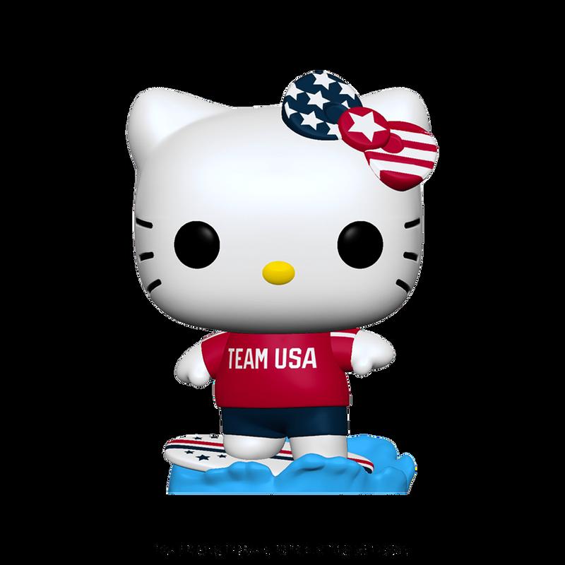Hello Kitty (Surfing)