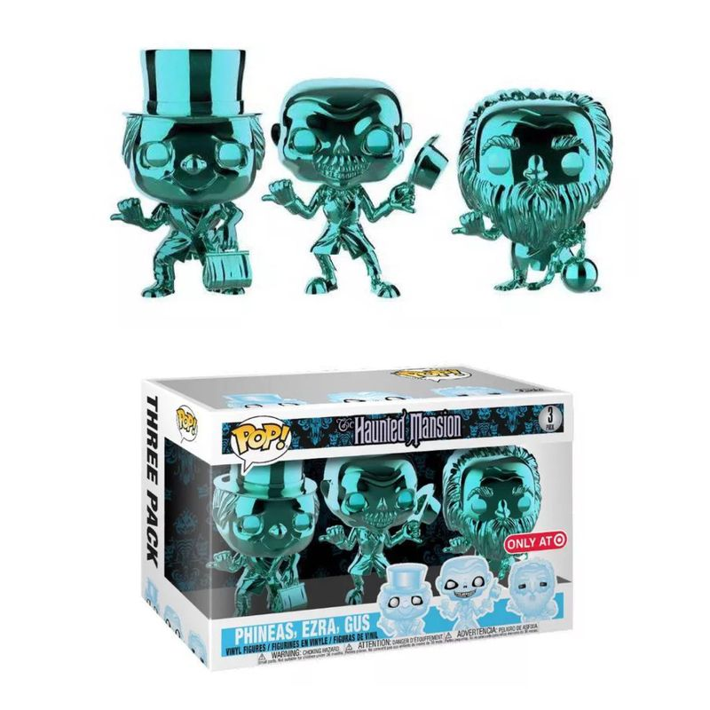 Phineas, Ezra, Gus (Hitchhiking Ghosts) (Chrome 3-Pack)