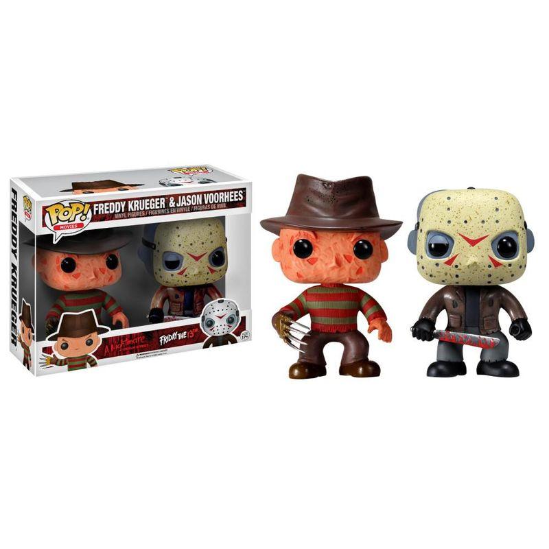 Freddy Krueger & Jason Voorhees (2-Pack)