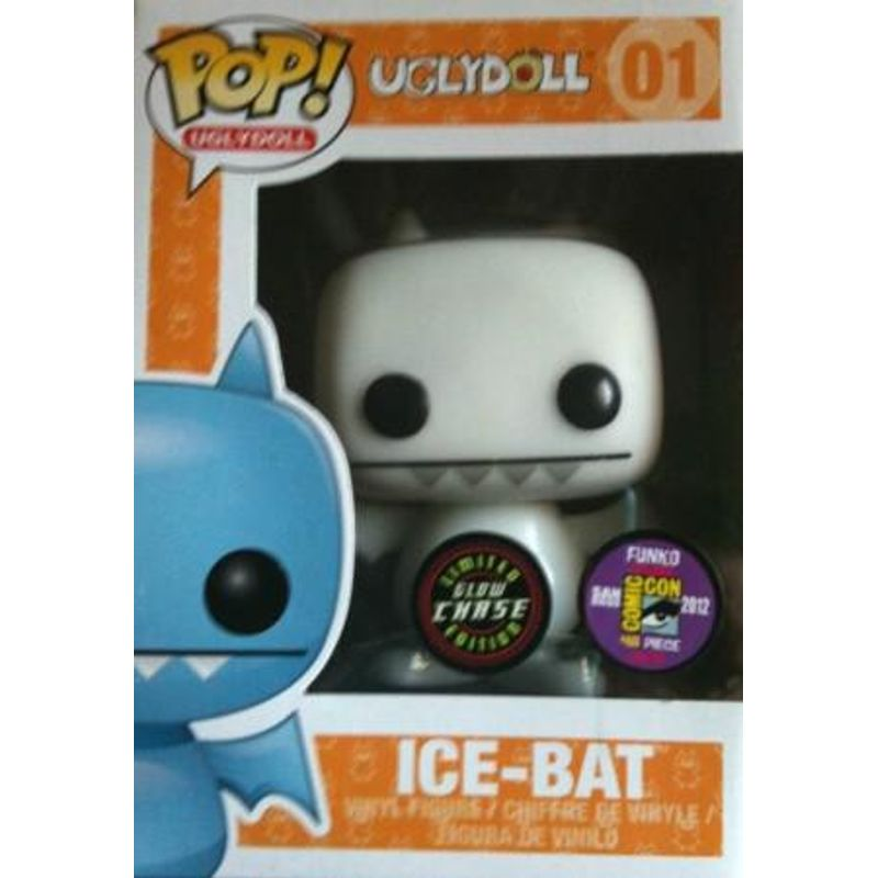 Ice-Bat (White Glow in the Dark)