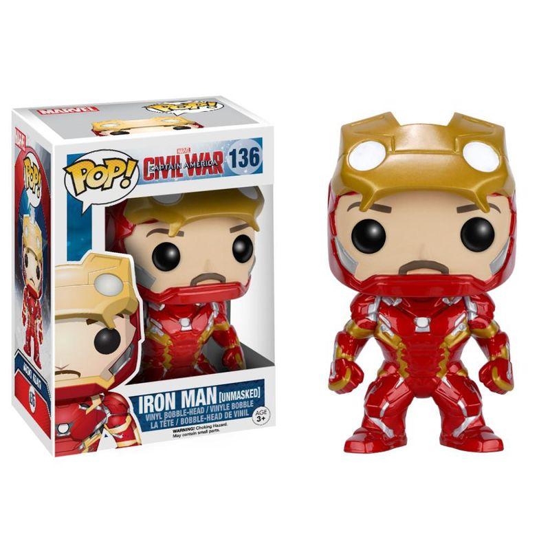 Iron Man (Civil War) (Unmasked)