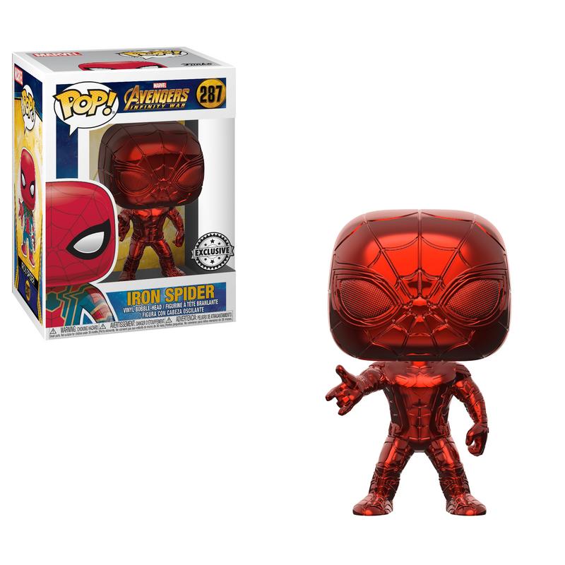 Iron Spider (Infinity War) (Red Chrome)