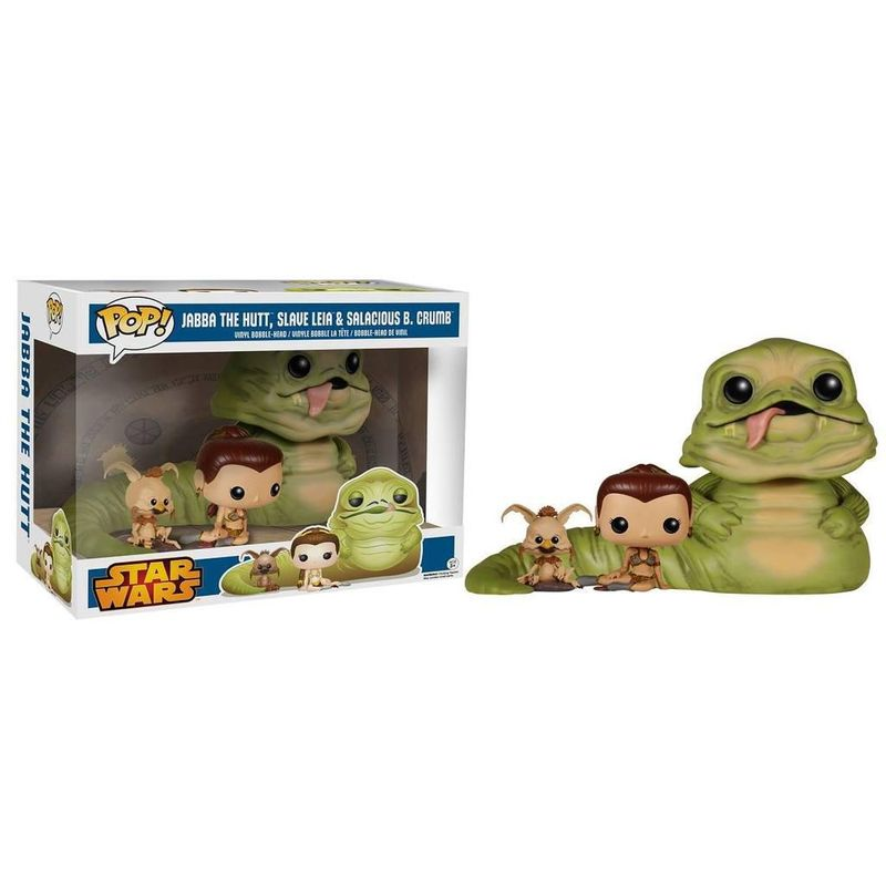 Jabba The Hutt, Slave Leia, & Salacious B. Crumb