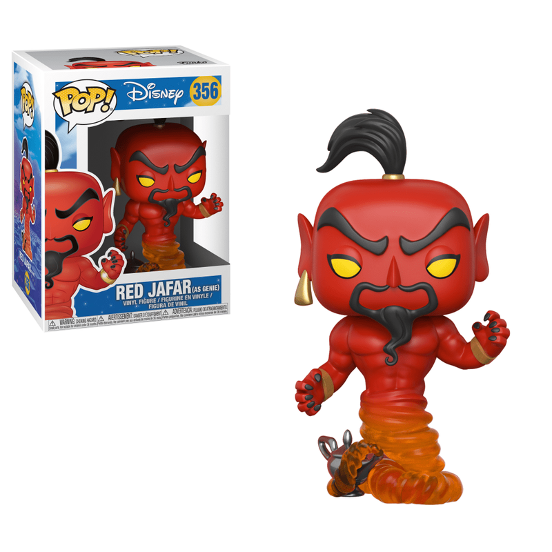 Red Jafar (as Genie)