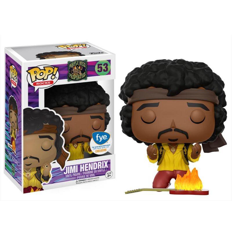 Jimi Hendrix (Burning Guitar)