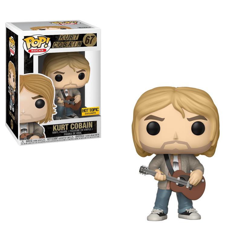 Kurt Cobain (Tan Sweater)