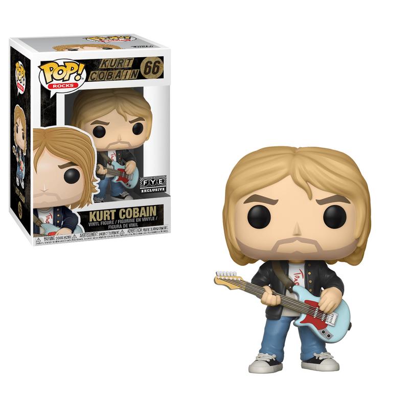 Kurt Cobain (Black Sweater)
