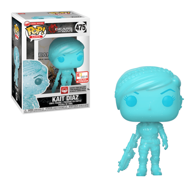 Kait Diaz (Gears Pop!) (Shimmering Blue)