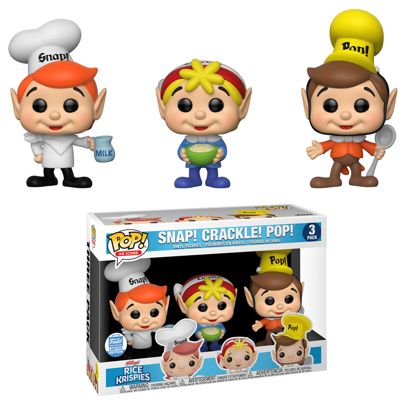 Snap! Crackle! Pop! (3-Pack)