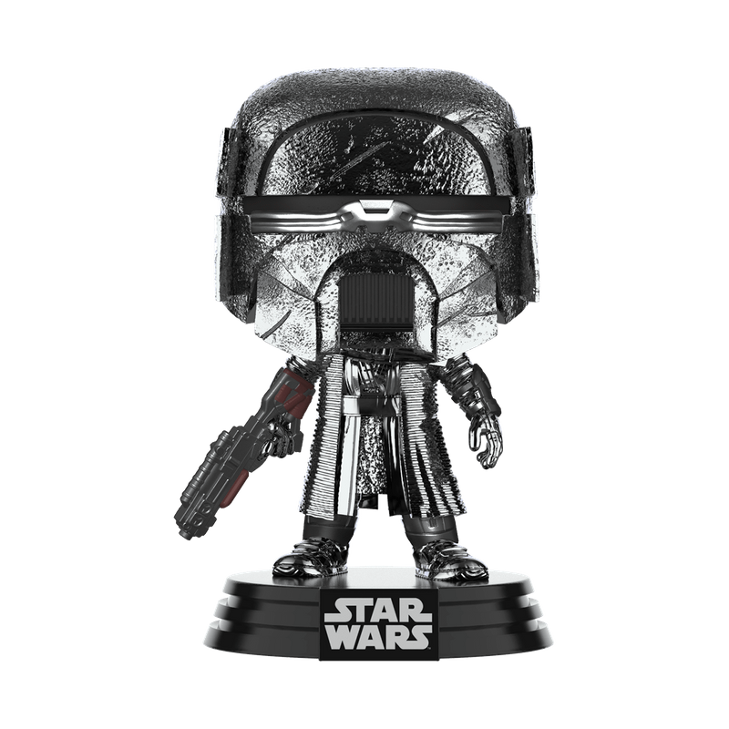 Knight of Ren (Blaster Rifle) (Hematite Chrome)