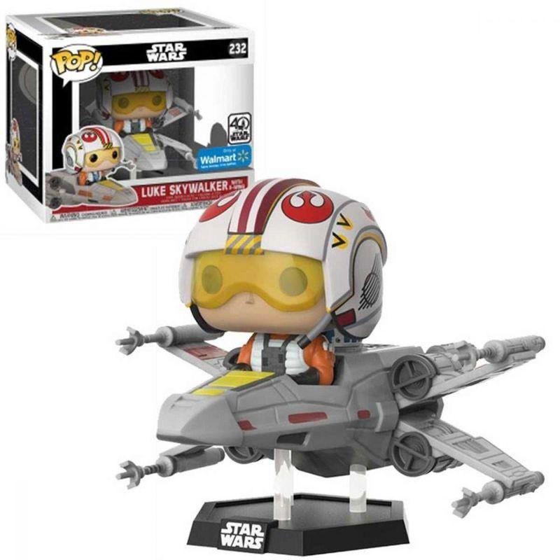 Luke Skywalker with X-Wing
