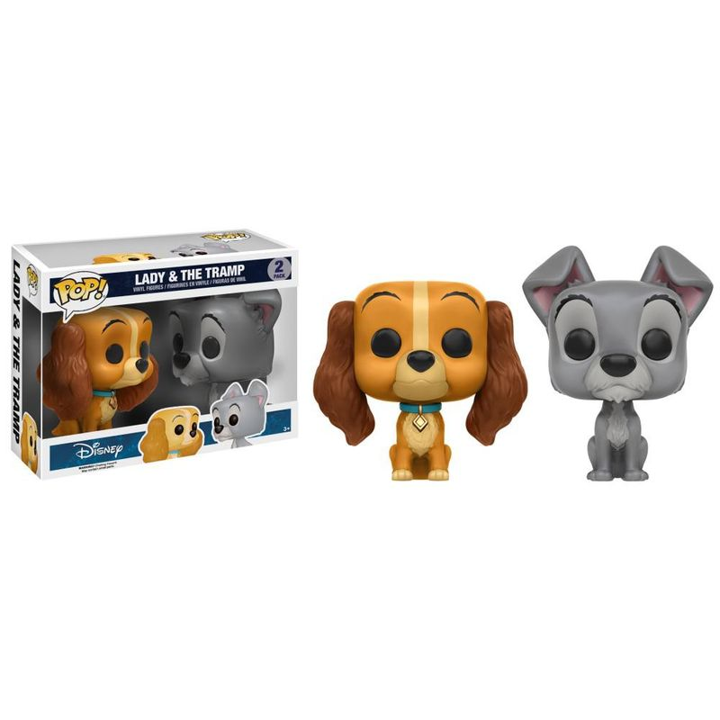 Lady & The Tramp (2-Pack)