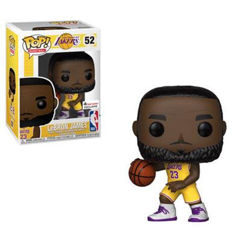 LeBron James (Lakers) [Yellow Jersey]