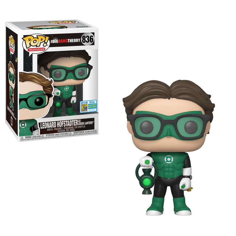 Leonard Hofstadter as Green Lantern [SDCC]