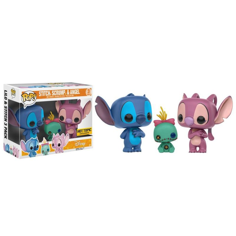 Stitch, Scrump & Angel (3 Pack)