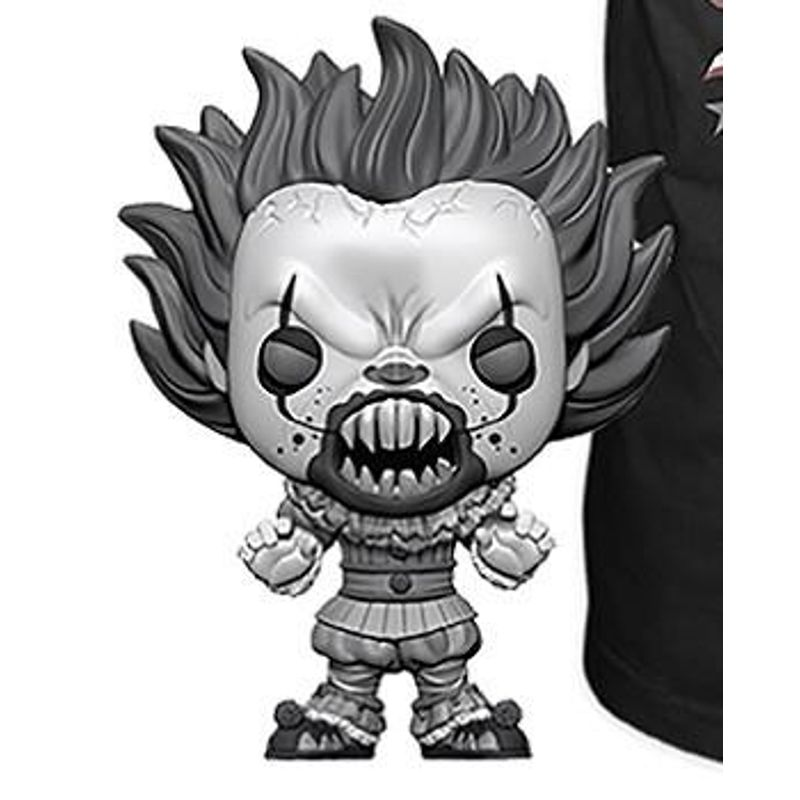 Pennywise (With Teeth) (Black & White)