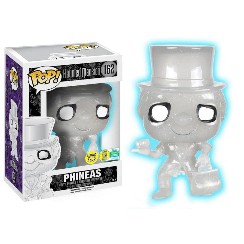 Phineas (Haunted Mansion) (White Glow Glitter)