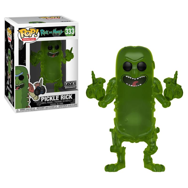 Pickle Rick (Translucent)